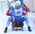 2019-01-25 Doubles Sprint Qualification at FIL World Luge Championships 2019 by Sandro Halank–221.jpg