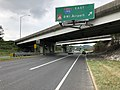2019-08-15 11 05 56 View south along U.S. Route 1 (Washington Boulevard) at the exit for Interstate 195 EAST (BWI Airport) in Arbutus, Baltimore County, Maryland.jpg