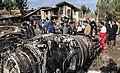 2019 Saha Airlines Boeing 707 crash 02.jpg