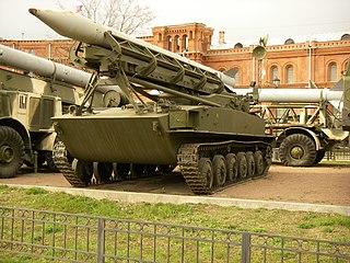 2K6 Luna Artillery rocket system