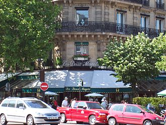 Boulevard Saint-Germain - Les Deux Magots