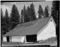 3-4 VIEW LOOKING NORTHEAST - Crawford Guard Station, Barn, Cascade, Valley County, ID HABS ID,43-CASC.V,2A-1.tif
