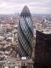 30 St Mary Axe Wikipedia - London-gherkin-an-unusual-eggshaped-building