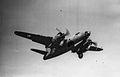 323d Bombardment Group - B-26 Marauder taking off.jpg