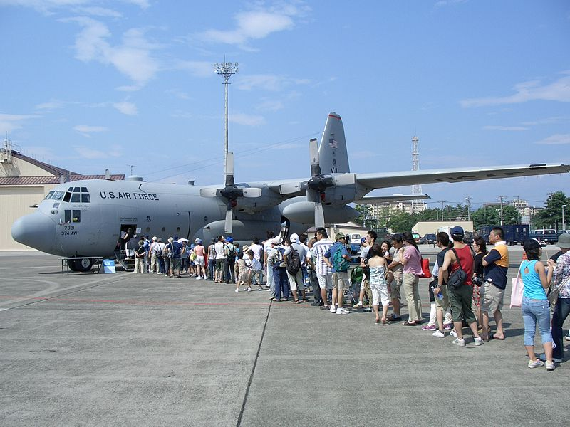 File:374AW C-130 exhibiting in Yokota 2005.jpg