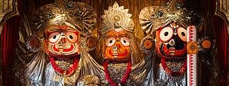 Jagannath - The Jagannath Triad.