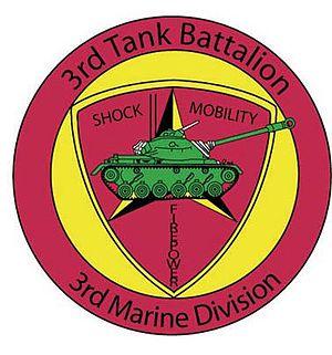 3rd Tank Battalion - 3rd Tank Battalion insignia