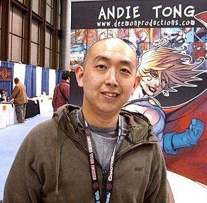 Andie Tong - Andie Tong at the New York Comic Con, April 20, 2008.