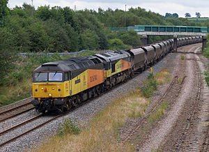Colas Rail - 47739 and 66847 in August 2012