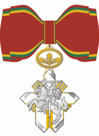 Order for Merits to Lithuania - Women's Commander's Cross for Humanitarian Contributions