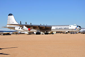 95th Air Base Wing - Former 95th Bomb Wing Convair B-36J Peacemaker at the Pima Air Museum