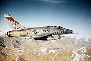 386th Tactical Fighter Squadron - F-100D Super Sabre - 56-3150