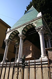 6150 - Bologna - San Francesco - Arca di Accursio e del figlio Francesco - Foto Giovanni Dall'Orto, 9-Feb-2008.jpg