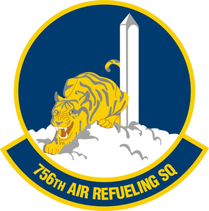 756th Air Refueling Squadron - Image: 756 Air Refueling Squadron emblem