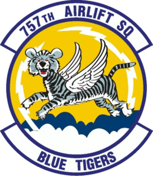 757th Airlift Squadron - 757th Airlift Squadron Patch