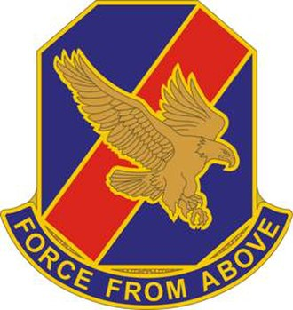 77th Aviation Brigade (United States) - Image: 77 Avn Bde DUI
