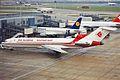 7T-VEX B727-2D6 Air Algeria LHR 06FEB00 (6061728726).jpg