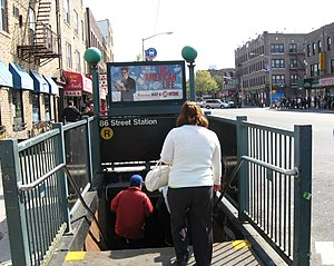 86th Street (BMT Fourth Avenue Line) - Image: 86brstair 5bbtjeh