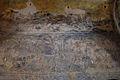 8th century fresco inside Qasr Amra, Jordan.jpg