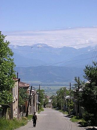 Telavi - Image: 9 April Street. Telavi