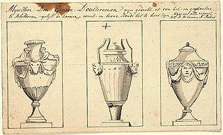 Preliminary sketch: three urns