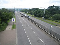 A1 Great North Way north of Hendon - geograph.org.uk - 475104.jpg