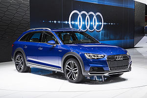 Audi allroad quattro - Image: A4allroad Detroit Auto Show 2016