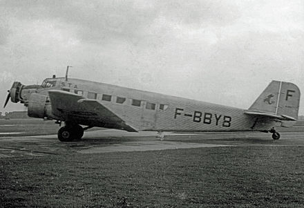 French-built AAC.1 of STA at Manchester Airport in 1948: This aircraft is preserved in Belgrade. AAC.1 F-BBYB STA Ringway 1948 edited-2.jpg