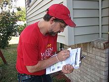 An AFL-CIO canvasser in the 2008 American election  sc 1 st  Wikipedia & Canvassing - Wikipedia pezcame.com