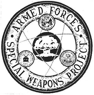 Armed Forces Special Weapons Project - Image: AFSWP badge