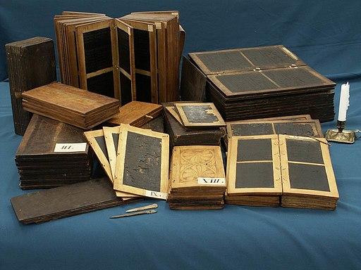 AGAD Średniowieczne księgi miejskie Torunia na tabliczkach woskowych 2