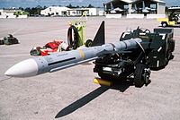 AIM-7 Sparrow at Eglin AFB 1988.JPEG