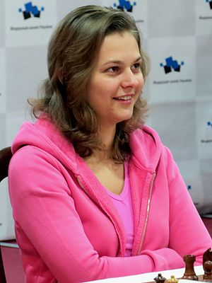 Women's event at the 42nd Chess Olympiad - Image: A Muzychuk 1 Ukr Ch 2014