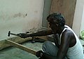 A Carpenter at work in Rajula Tallavalasa.jpg