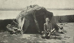 "A Hindu ""Fakir"" on the Banks of the Jhelum.jpg"