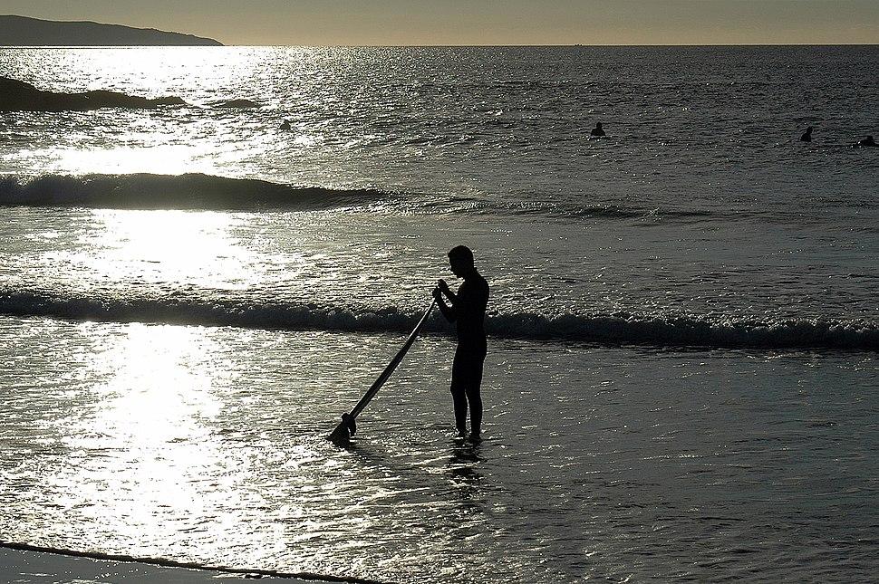 A Lanzada, praia surf Galicia