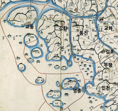 A Part of Daedongyeojido to show incheon.png