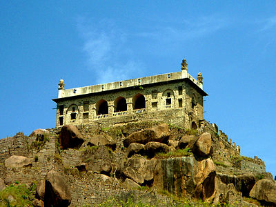 A Remote view of Golconda Fort, Hyderabad, India.jpg