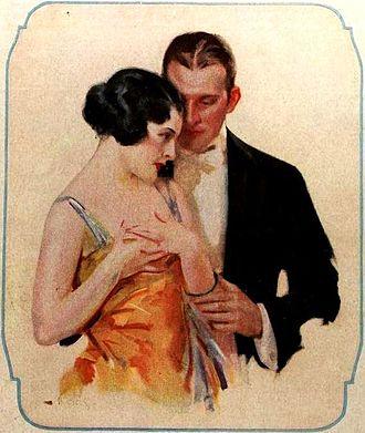 Walter Biggs - Biggs illustration used in a soap ad in 1922.