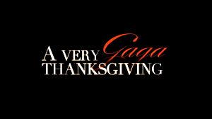A Very Gaga Thanksgiving - Title card