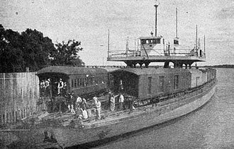 A. & J. Inglis - Argentine train diesel ferry, the 3rd generation ferries, from the 30´s