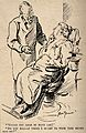 A dentist asking his patient if she would like gas, she reto Wellcome V0011508.jpg