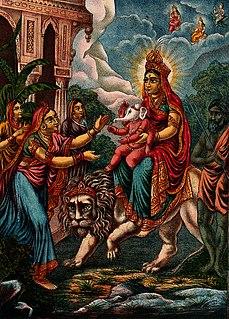 Parvati One of principal goddesses in Hinduism