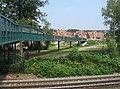 A long footbridge - geograph.org.uk - 979513.jpg