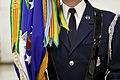 A member of the Air Force Honor Guard color team stands with the Air Force flag after a dress rehearsal for the inaugural parade 130111-D-UB584-168.jpg