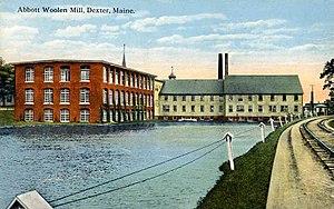 Dexter, Maine - Image: Abbott Woolen Mill, Dexter, ME