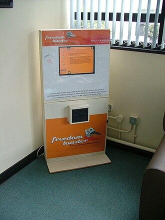 Freedom Toaster - Freedom Toaster in Aberystwyth