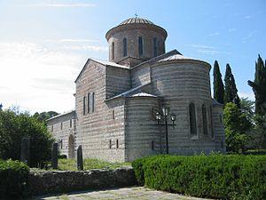 Abkhazians - Image: Abkhazia, Georgia — Bichvinta Cathedral