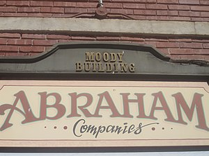 Salem Abraham - The Abraham Trading Company is based in the Moody Building, a former hotel in Canadian, Texas.