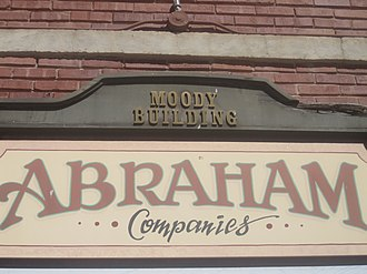 Hemphill County, Texas - Abraham Companies are based in the Moody Building, a former hotel in Canadian.
